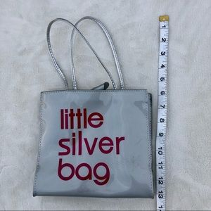 Bloomingdales the silver bag